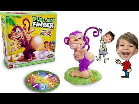 Pull My Finger Monkey Challenge Game The Farting Monkey Game Youtube