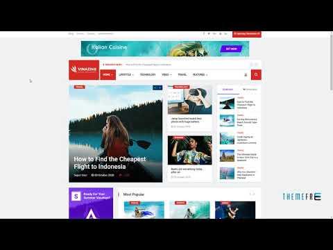 Vinazine - Joomla News Magazine Template        Len Rex