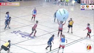 SWITZERLAND vs BELGIUM vs JAPAN - KIN-BALL® WORLD CUP 2015 FEMALE #10 SEMIFINAL1