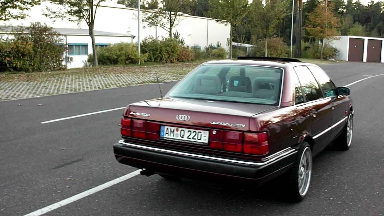 Audi 200 20 V Youtube