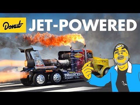 TOP 10 Jet-Powered Cars | The Bestest