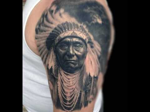Native American Tattoos - Indian Design Ideas