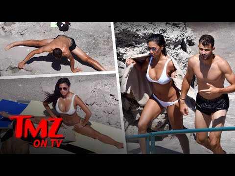 Nicole Scherzinger Shows Off Her Hot Bod While Doing The Splits In A Bikini | TMZ TV