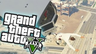 One of JeromeACE's most viewed videos: GTA 5 PC Funny Moments - HELICOPTER SKYDIVING + PARTY BUS MAYHAM (GRAND THEFT AUTO 5 PC ONLINE)