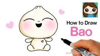 How to Draw Bao Easy | Pixar Short Film