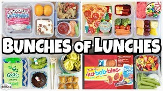 CRAZY busy Week and a BONUS Lunch?!? 🍎 Lunch Ideas for KIDS