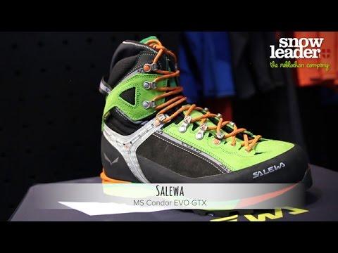 3e49085dc Salewa : MS Condor EVO GTX - chaussure d'alpinisme, par Snowleader