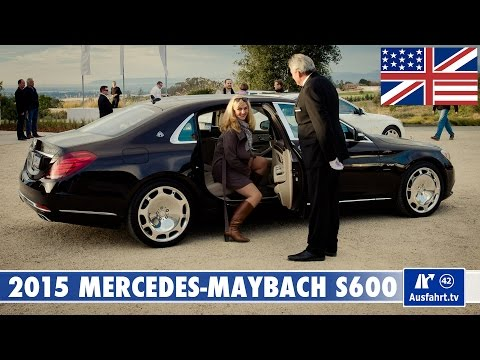 2015 Mercedes-Maybach S600 V12 -  Test, Test Drive and In-Depth Car Review (English)