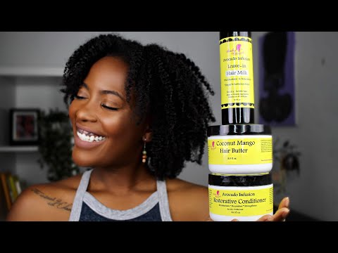 KINKY TRESSES REVIEW   Braidout on 4c Natural Hair   kandidkinks