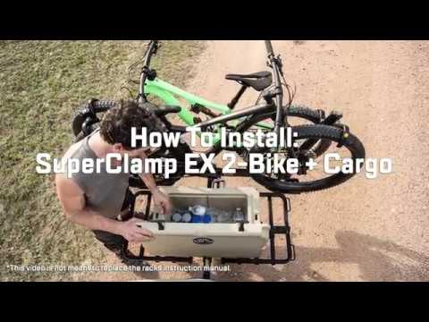 Saris SuperClamp EX 2-Bike + Cargo Assembly & Installation