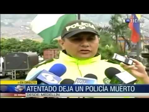 Atentado dejó un policía muerto y otro herido en Guadalupe, Antioquia