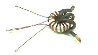 Высокочастотный трансформатор тока на двух транзисторах IRFP254A(, 2015-01-14T12:14:40.000Z)