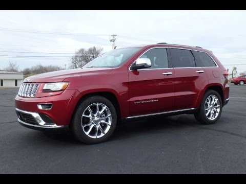 2014 Jeep Grand Cherokee Summit Ecodiesel For Sale Dayton Troy Piqua Sidney Ohio Cp14718t Youtube