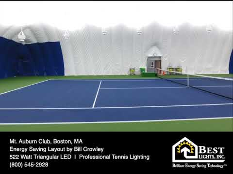 Indoor Tennis LED Lights Air Dome