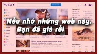CRetro | Những trang web nổi tiếng một thời.Nếu biết có thể bạn đã già!!
