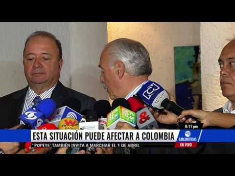 Expresidentes colombianos rechazaron 'golpe de estado' en Venezuela