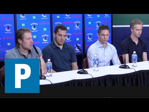 Canucks: Young stars full press conference | The Province