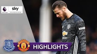 De Gea patzt schwer | FC Everton - Manchester United 1:1 | Highlights - Premier League 2019/20