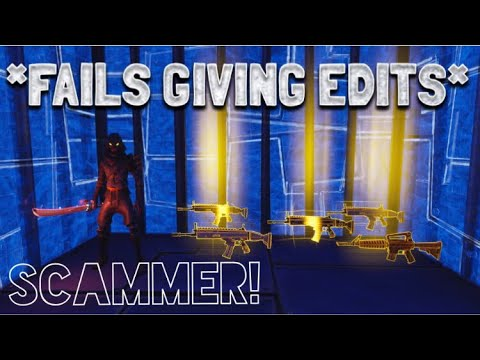 Scammer Gave Me Edit Permissions At Wrong Time! (Scammer Gets Scammed) Fortnite Save The World Pve