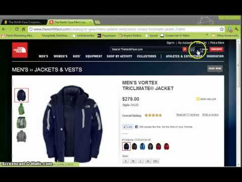 8aa63492f3 The North Face Promotion Codes and Coupon Codes - YouTube