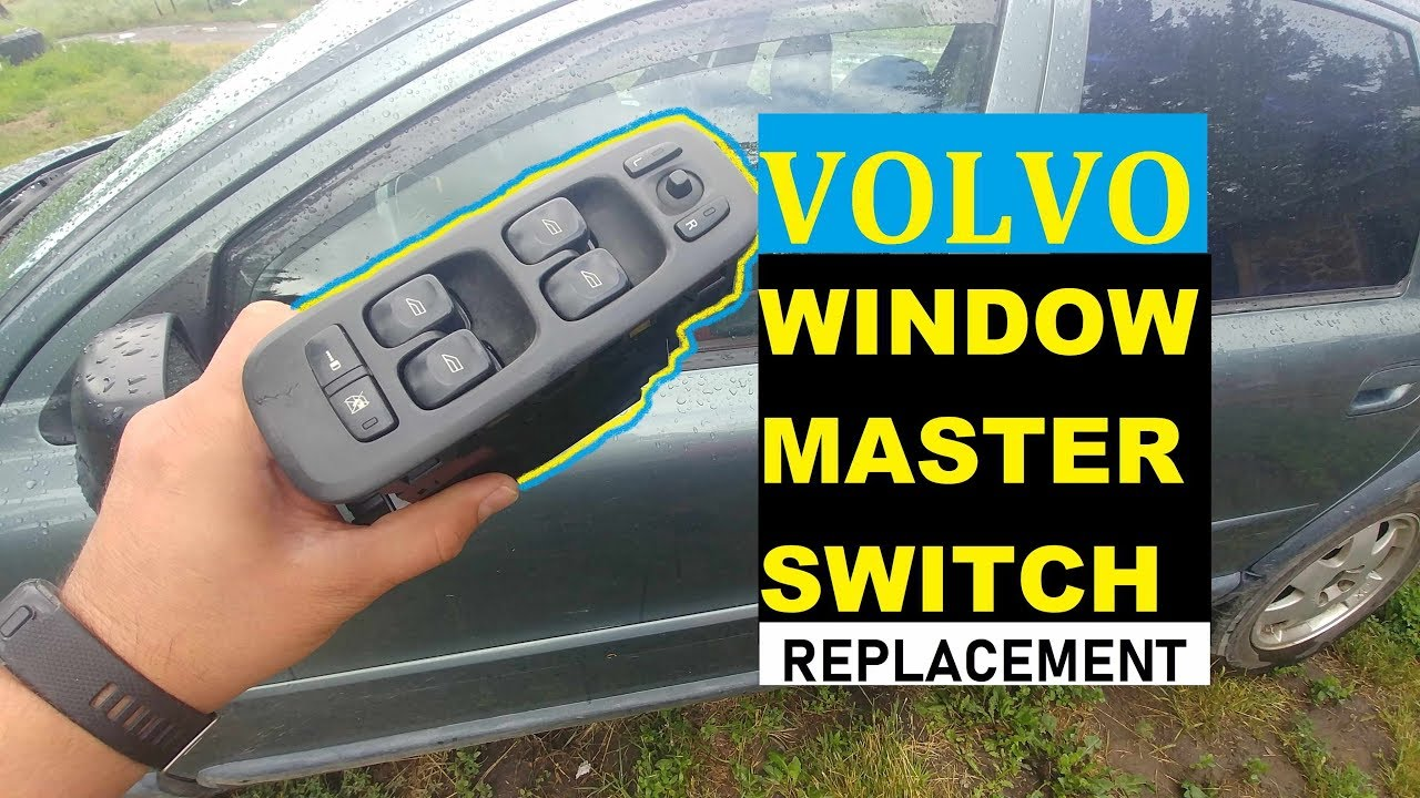2001 Volvo V70 Left Front Door Window Regulator
