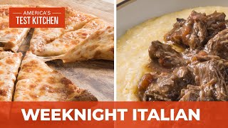 How to Make Homemade One-Hour Pizza and Beef Short Rib Ragu