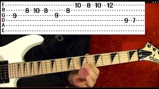 How to Play HUNGRY LIKE THE WOLF by DURAN DURAN ( Guitar Lesson )