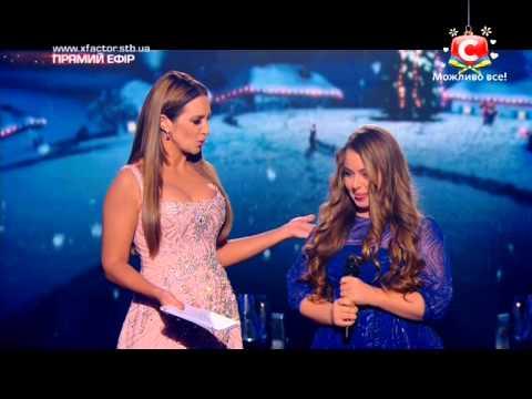 Видео: Х-фактор-5 Валерия Симулик - Слова после выступления Гала-концерт27.12.2014