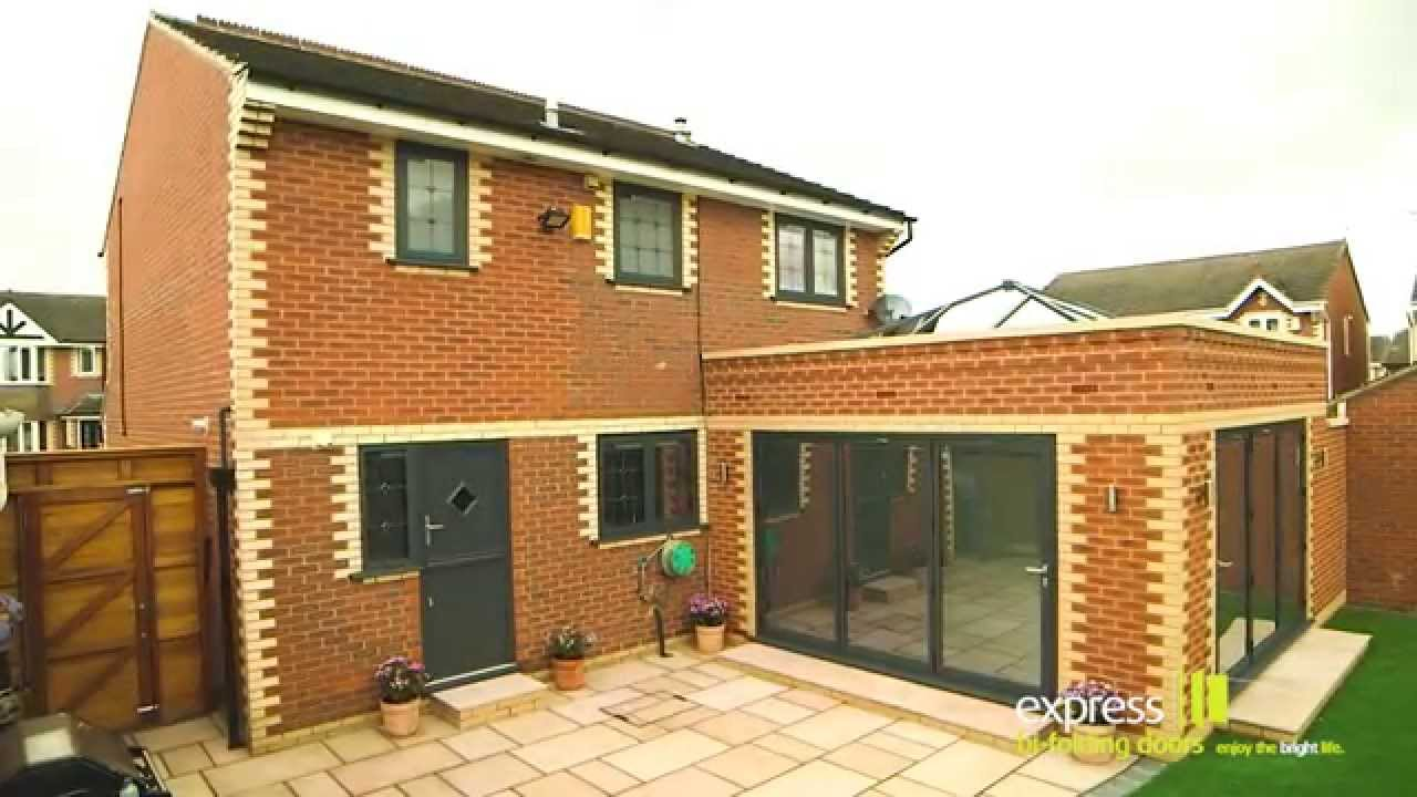 Express Bi folding Doors Orangery Installation & Express Bi folding Doors Orangery Installation - YouTube