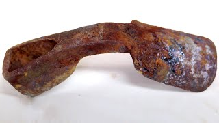How to Restore Rusty Old Axe Adze