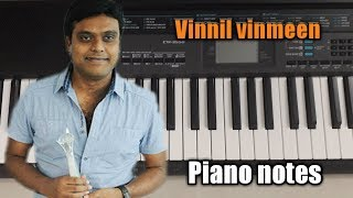 vinnil-vinmeen-kaappaan-surya-harris-jayaraj-piano-notes