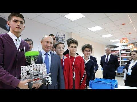 Детская академия вундеркиндов в Нальчике удивила Путина