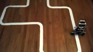 self balancing lego mindstorms nxt robot line following