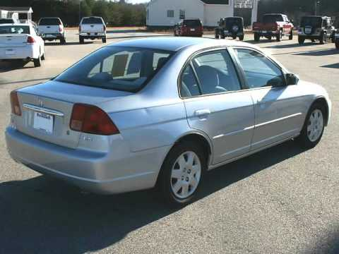 2001 Honda Civic 4 Door Sedan EX Automatic Perfect Carfax (Cleveland,  Georgia)