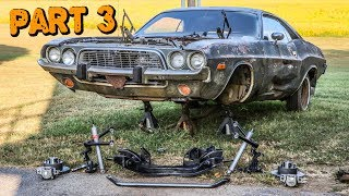 Download ABANDONED Dodge Challenger Rescued After 35 Years Part 3: Suspension Rebuild Mp3 and Videos