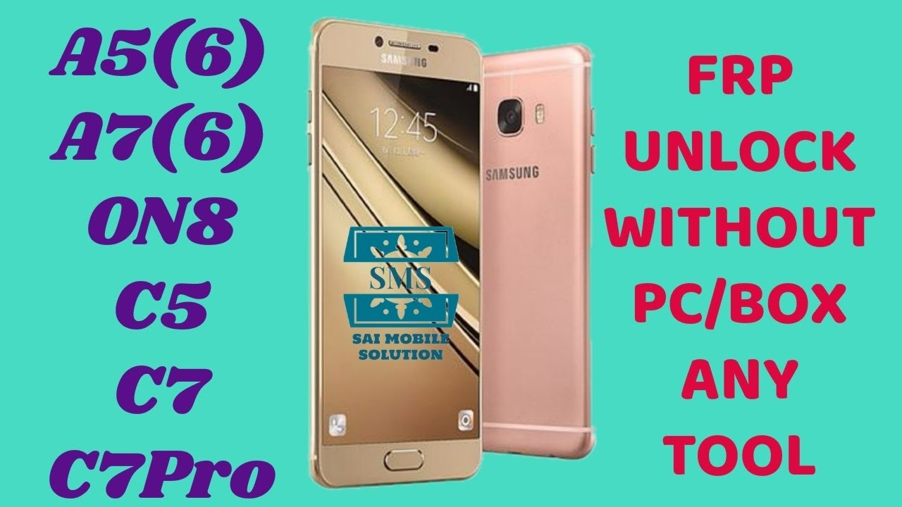 SAMSUNG GALAXY C7 SM-C7000 FRP BYPASS DONE 2017 by Mobile Softwares