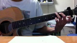 Kang Minhyuk - 별 Star guitar cover. (Heartstrings OST)
