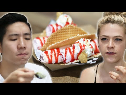 We Tried Rolled Ice Cream Tacos