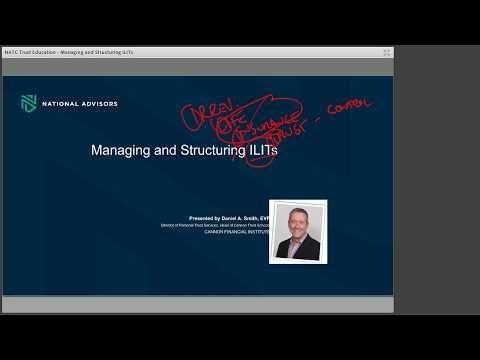 Trust Education: Managing and Structuring ILITs by National Advisors Trust Company