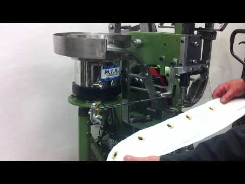 Automatic Punching & Eyeleting Machine