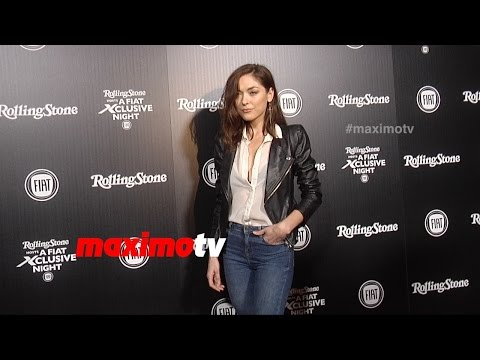 Annabelle Stephenson  A FIAT Xclusive Night  Red Carpet  MaximoTV Footage