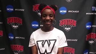 Maya Hopwood on breaking a school record and start to collegiate career