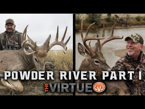 Powder River Whitetails - Bow Hunting GIANT Montana Whitetails!! | The Virtue TV S4//E15