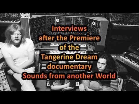 Interviews after Premiere Tangerine Dream Documentary 20161116