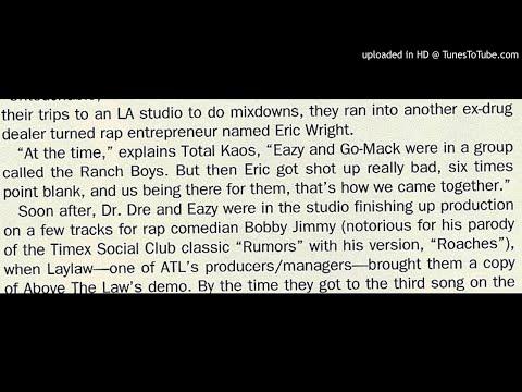 Eazy-E was Shot 6 Times Point Blank Range