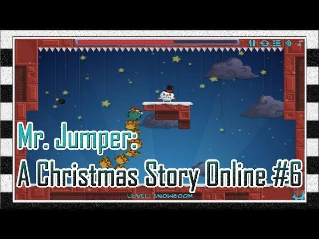 Игра Мистер Прыгун: Рождественская История Онлайн #6 - Прохождение Игры с 20 Уровня/Levela до Босса!