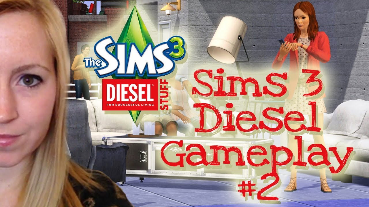 WHAT'S INCLUDED? - SIMS 3 DIESEL STUFF PACK GAMEPLAY #2