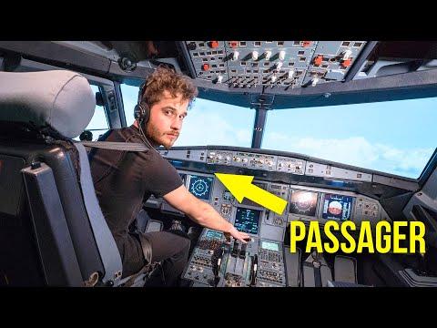 Un passager peut-il faire atterrir un avion de ligne ?