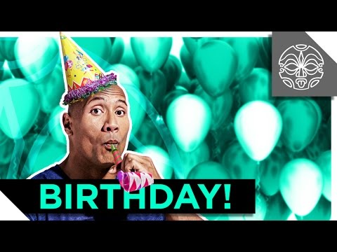 THE ROCK'S BIRTHDAY SURPRISE!