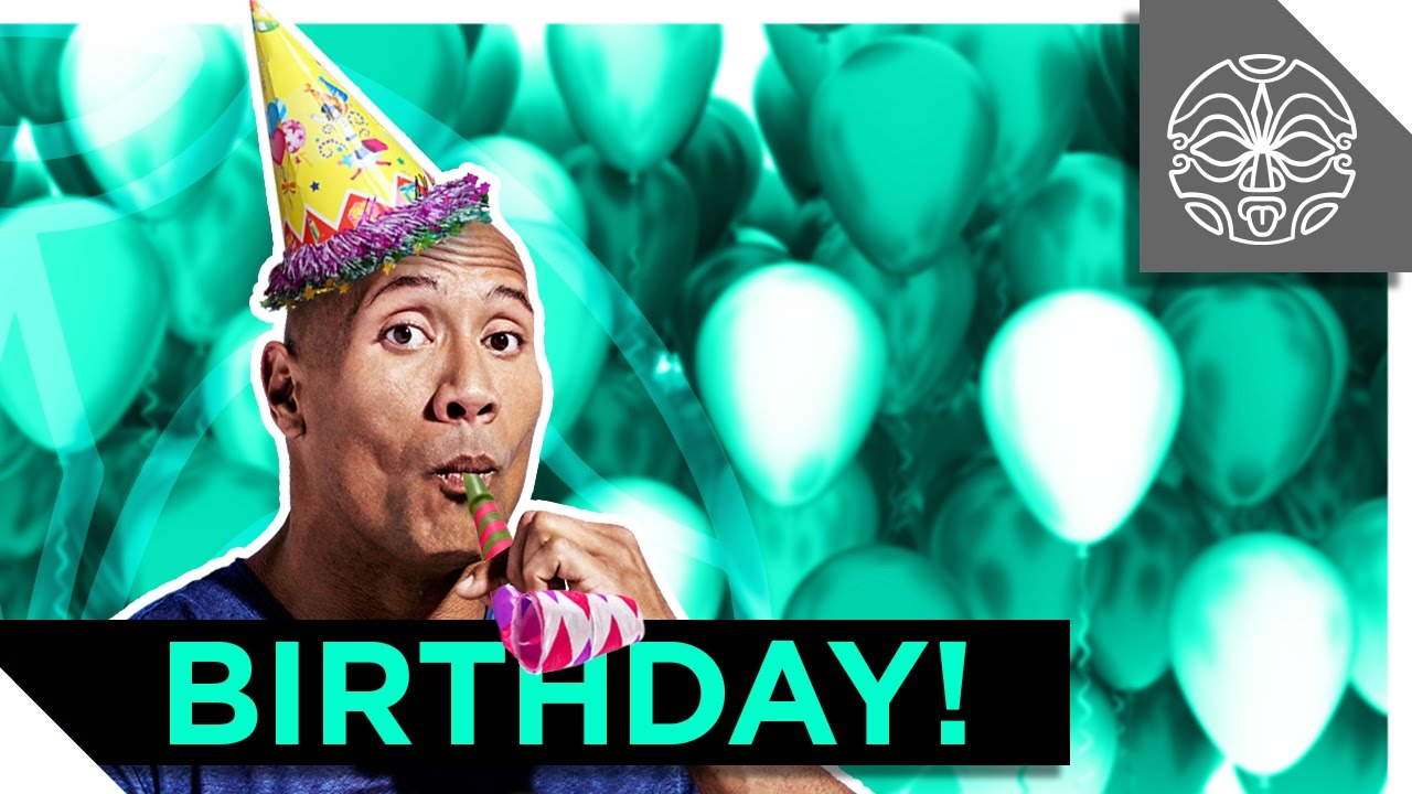 maxresdefault the rock's birthday surprise! youtube